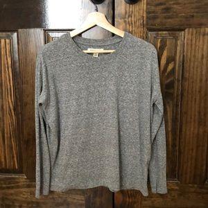 Madewell Rivet&Thread Slub Cotton Long Sleeve Tee